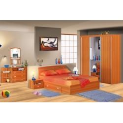 Dormitor Xtend cu sifonier cu usi glisante